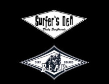 Surfer's Den + Bear
